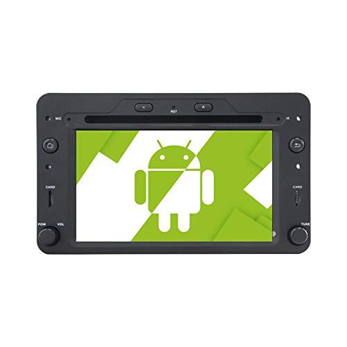 AOTSR 7 Pulgadas Android 10.0 Radio de Coche Reproductor Multimedia Autoradio para Alfa Romeo 159 Navegación GPS Bluetooth DSP Radio Carplay IPS Pantalla Táctil WiFi Audio Mirror Link