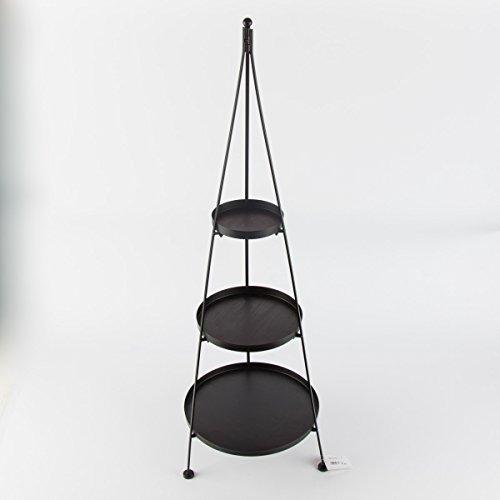 Deko-Etagere Kegel 3er Höhe 100cm Material: Eisen