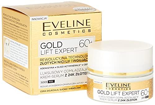 Eveline Cosmetics Gold Lift Expert Tag/Nachtcreme 60+, 50 ml