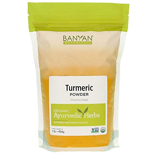 Banyan Botanicals Turmeric Powder - USDA Organic, 1 lb - Curcuma longa - Traditional Cooking Spice That Promotes Digestion Overall Health, and Well-being