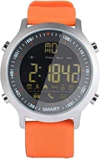 Gymqian Fitness Tracker Smart Pulsera Profesional Diveo Reloj Bluetooth Teléfono Inforión Push Movimiento Global Orange Sport Fitness Tracker Desgaste diario
