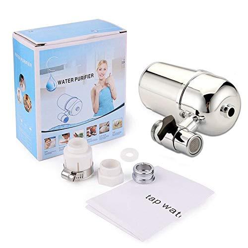 Lynn025Keats 6 L purificador de agua para grifo de cocina, filtro de agua para cocina, salud frontal activado