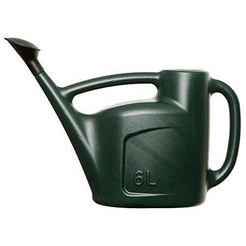 CUQOO 6L Watering Can In Green – Lightweight Watering Can For...