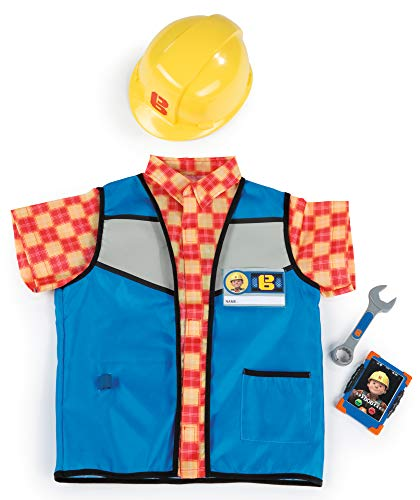 Smoby The Builder Bob el Constructor con Set de Seguridad, Color Multi (Simba Toys 380300)