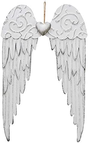 Angel wings wall hanging