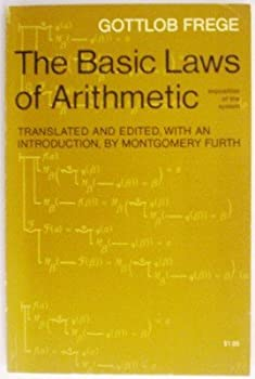 Basic Laws of Arithmetic 0520004337 Book Cover