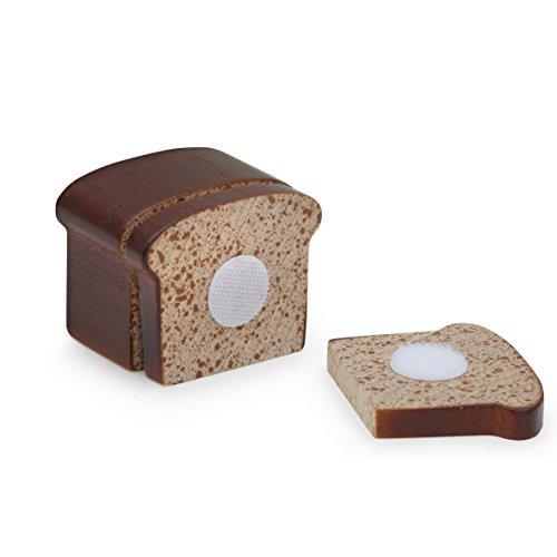 Erzi brood om te snijden, speelgoedbrood, winkelaccessoires