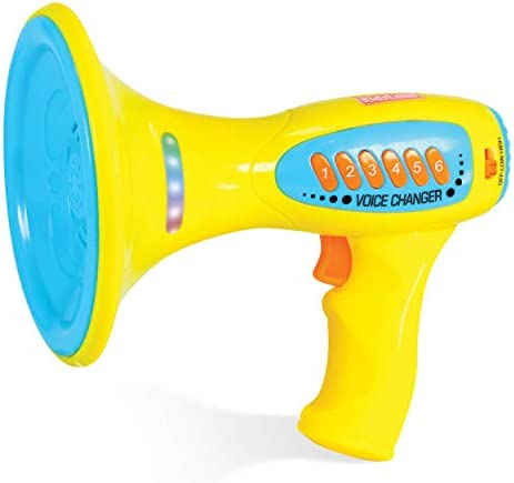 Kidzlane Voice Changer for Kids with Megaphone Function LED Lights and 5 Different Sound Effects product image