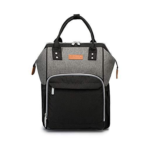 KN-Backpack Mochila de Gran Capacidad, multifunción, a la Moda, con Colores explosivos, para Uso doméstico, Impermeable, Bolso de Mano, colour4, L