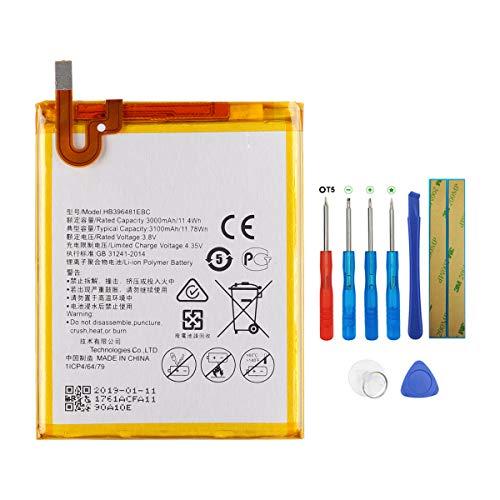 Swark HB396481EBC - Batería compatible con Huawei Honor 5x, Honor 6 Ascend, G7 Plus, G8, G8X (con herramientas)