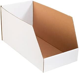 warehouse storage bins cardboard