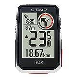SIGMA SPORT ROX 2.0 Blanco | Ciclocomputador inalámbrico GPS y navegación, con Soporte GPS | Navegación GPS en Exteriores para Disfrutar al máximo de la Bicicleta