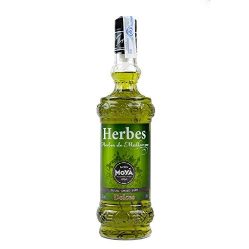 Licor de Hierbas de Mallorca Dulces Moyá 70cl 25{fb4c520283965bc0198bf9fd1462c008a695bbd3a8630178a3ed3f418da1cd7d} Alcohol