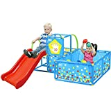 Eezy Peezy TM300- Playset with 50 Balls, Red/Yellow/Blue