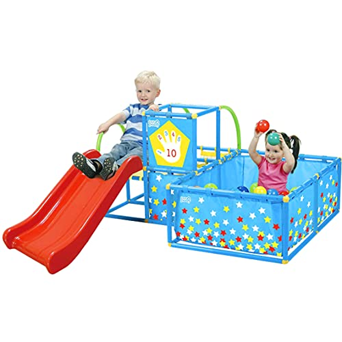 Product Image of the Eezy Peezy TM300- Playset with 50 Balls, Red/Yellow/Blue