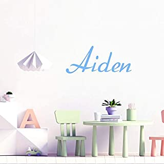 Wall stickers for bedrooms for Boys, Custom Name Wall Sticker, Personalised Wall Decal, Customised Bedroom Wall Stickers, Toy Box Name Stickers, Nursery Wall Art Decor, Kid's Room Decal