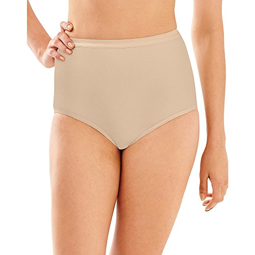 Bali Full-Cut-Fit Stretch Cotton Brief_Soft Taupe_9