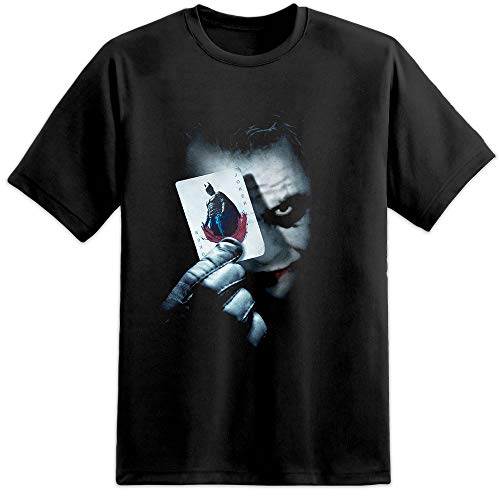 Heath Ledger - Joker Card / Batman / Dark Knight DC Comics T Shirt