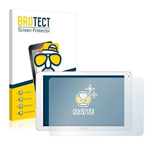 BROTECT 2X Entspiegelungs-Schutzfolie kompatibel mit Archos 101c Platinum Bildschirmschutz-Folie Matt, Anti-Reflex, Anti-Fingerprint