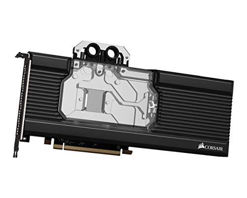 Corsair Hydro X Series, XG7 RGB RX-SERIES GPU-Wasserkühler für Radeon RX 5700 XT (präzise Konstruktion, Aluminium Rückwand, Durchflussanzeige, anpassbare RGB-Beleuchtung), Schwarz