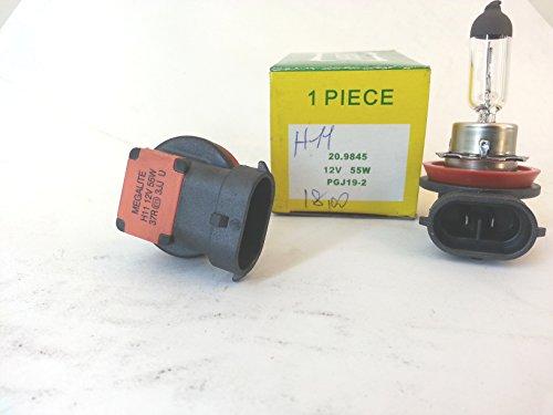 Ampoule Halogène 12 V 55w H11 PGJ 19-2 Blanc