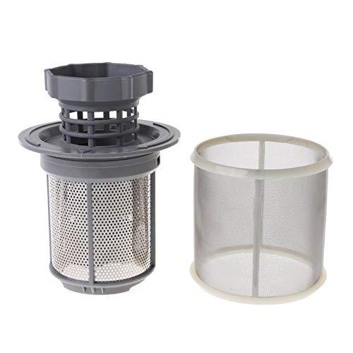 Accesorio Lavadora Lavavajillas Pantalla de Filtro de Malla Interior Kit Filtros máquina lavavajillas de Repuesto Plato de Partes del Filtro Lavadora Accesorios para electrodomésticos