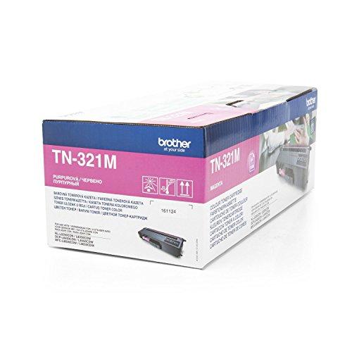 Brother Original TN-321M /, für MFC-L 8650 CDW Premium Drucker-Kartusche, Magenta, 1500 Seiten