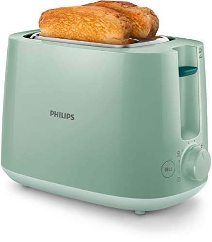 Philips 1 Tostadora Hd2581/60, 800 W, Verde