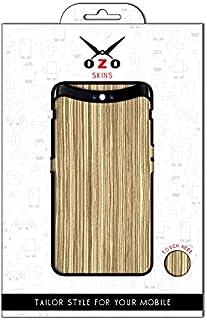 لاصقة حماية من اوزو بشكل الخشب الابيض لموبايلVivo Y51