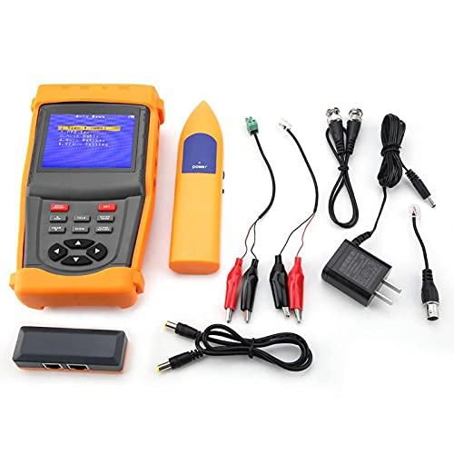 Probador de cámara analógica de seguridad portátil Probador de CCTV Probador de monitoreo SML-INS de 3,5 pulgadas Estándar de red para acuerdo PTZ para transmisión Judge RS485