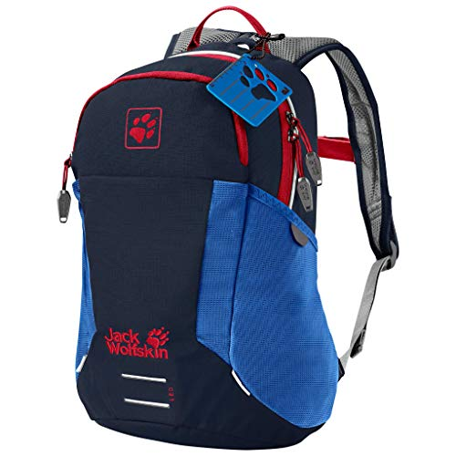 Jack Wolfskin Kinder KIDS MOAB JAM bequemer Kinderrucksack, Night Blue, ONE SIZE