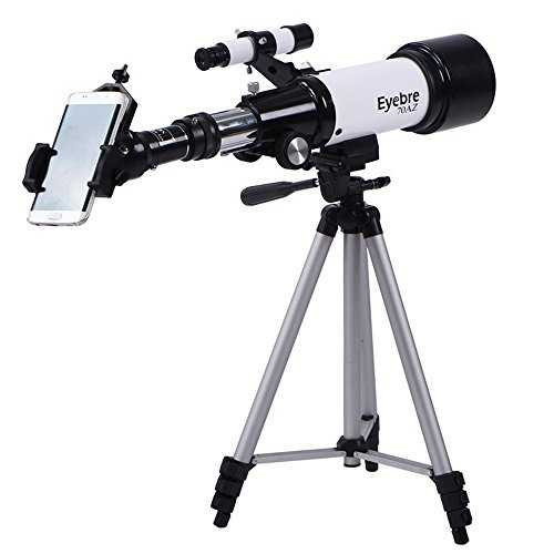 Telescope Mount/Holder HD Zoom Monocular Astronomical Telescope with Portable Tripod