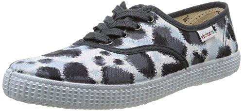 Victoria Inglesa Estamp Huella Tigre - Zapatillas de Deporte de Canvas