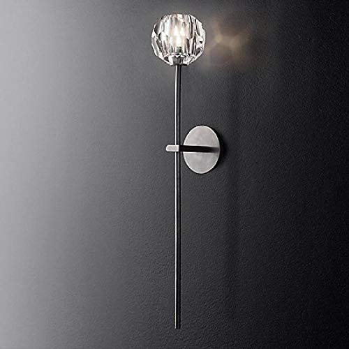 See_Chart retro-wandlamp van verguld ijzer voor restaurant cognac
