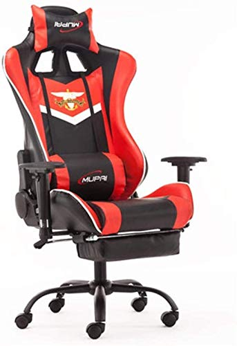 NBVCX Furniture Decoration Executive Office Chair Gaming Chair Racing Office Computer Game Chair Ergonomic Backrest and Seat Height Adjustment Recliner Swivel Rocker (Color : 4)