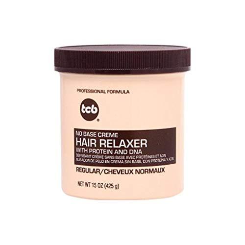 TCB Professionale No Base Creme Hair Relaxer Forza Regolare 25% extra libero 20oz