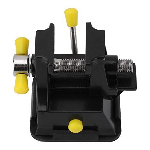 Abrazadera compacta, práctica y liviana en tornillo de banco, tornillo de banco, práctico para manualidades de joyería