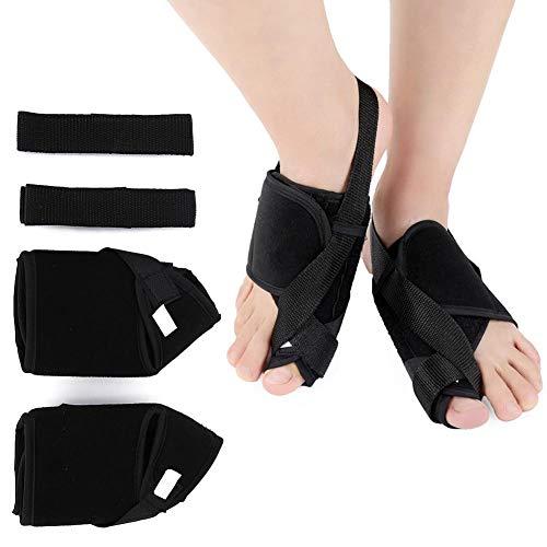 . Corrección de Hallux Valgus Férula de Hallux Valgus día y noche , Vendaje de Hallux Valgus alta comodidad de uso para la superposición del dedo del pie, pie plano, alivio del dolor(METRO)