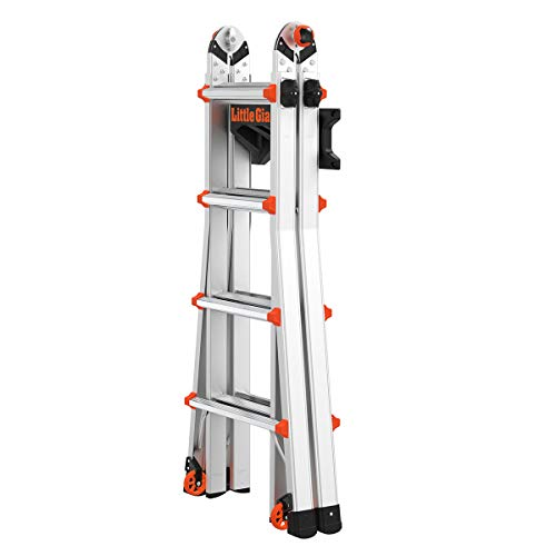 Little Giant Ladder Systems 15097 Ladder Storage Rack, Black/Orange