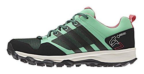 adidas Damen Kanadia 7 TR GTX Traillaufschuhe, Grün (Green Glow S16/Blanch Green S16-St/Super Blush S16), 36 2/3 EU