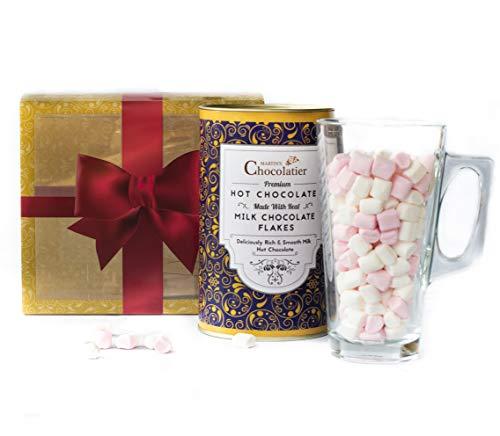 Heiße-Milch-Schokolade Geschenkset - Luxus-Schokoladen-Geschenkkörbe - Ideale Geschenk Für Schokoladenliebhaber |Schokoladen Geschenke|