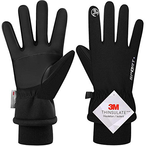 -30℉ Winter Gloves Touchscreen Gloves Thermal Gloves for Running Cycling