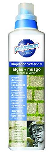 Flower 40580 40580-Limpiador Algas y Musgo, 1 l, No Aplica, 7x7x29 cm