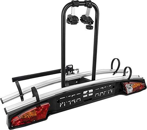 VDP Auto Fahrradträger Merak Rapid 2 – universal, abschließbarer Heckträger für 2 Fahrräder oder 2 eBikes