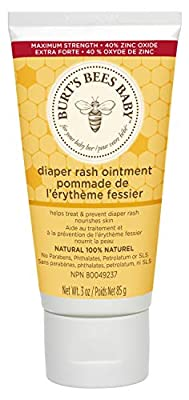 Burt's Bees Baby 100% Natural Diaper Rash Ointment - 3 Ounce (Pack of 1)