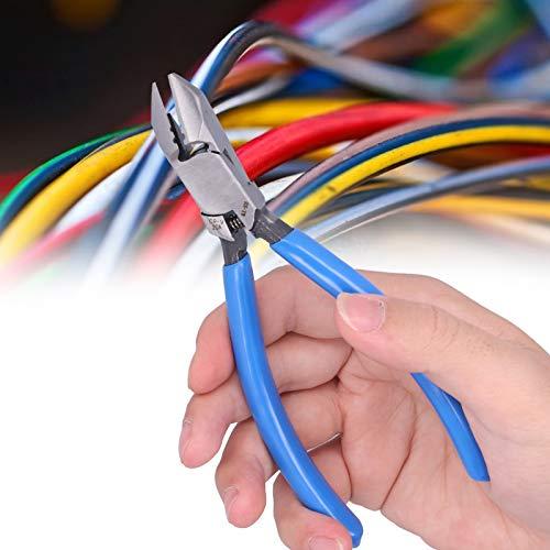 Cortadores de cables de alambre eléctrico, tenazas de plástico profesionales ultrafinas para...