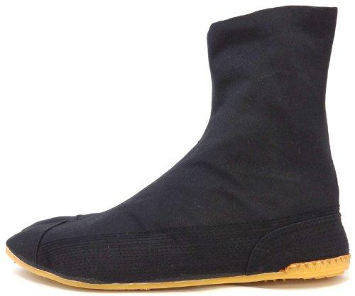 Tabi Shoes Ninja Low Top Comfort-Cushioned ! Black Rikio Jikatabi (JP 28 Approx. US Men 10/ EU)
