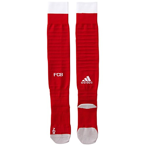 adidas Herren FC Bayern München Heimsocken Replica 1 Paar Socken, FCB True Red/White/Power Red, 31-33