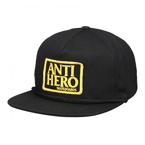 Anti Hero Cappellino Adjustable Reserve Patch Unstructured Black
