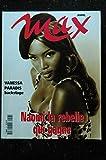 MAX 057 N° 57 COVER NAOMI CAMPBELL TOPLESS VANESSA PARADIS KIM BASINGER JONVELLE NUDES INTERVIEW TABATHA CASH
